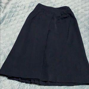 Vintage Gucci skirt navy blue